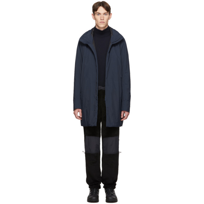 Photo: Veilance Navy Insulated Euler Coat