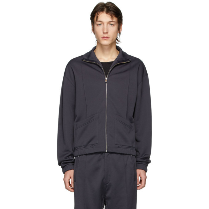 Photo: Lemaire Grey Fleece Zipped Sweatshirt