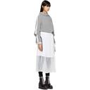 Sacai Grey Sport Knit Dress