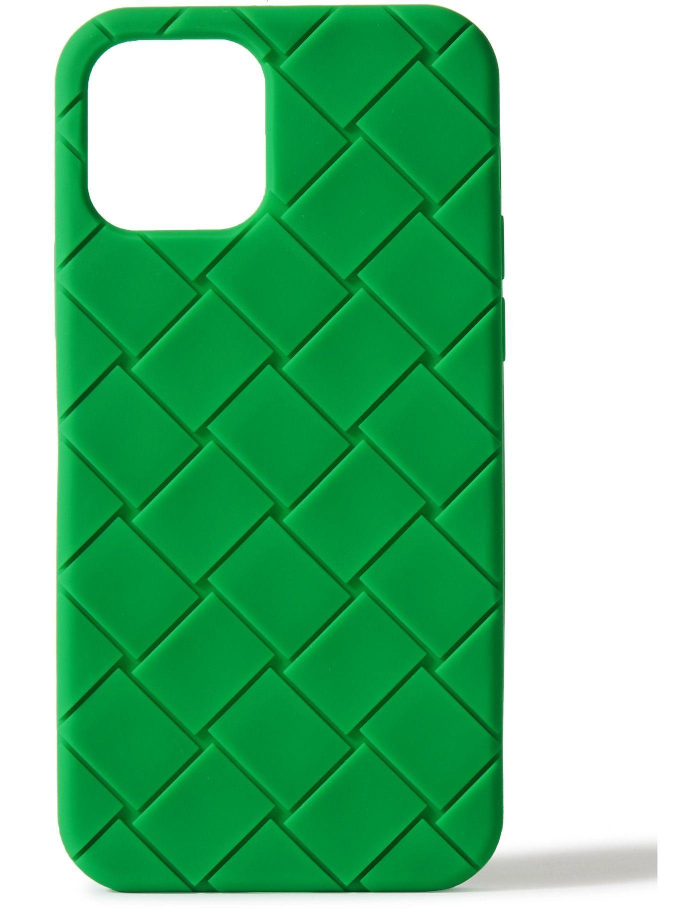 Photo: BOTTEGA VENETA - Intrecciato Rubber iPhone 12 Case