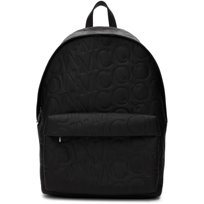 Photo: McQ Alexander McQueen Black Calfskin Classic Backpack