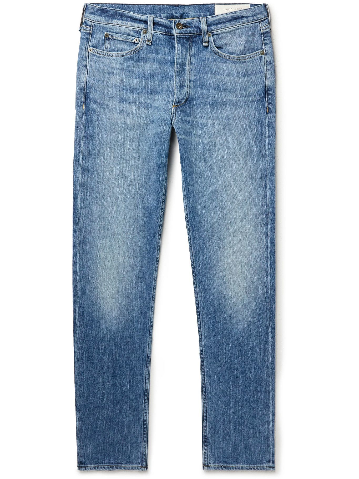 Photo: RAG & BONE - Fit 2 Slim-Fit Organic Jeans - Blue
