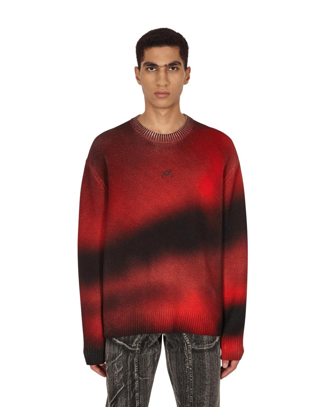 A Cold Wall Spray Digital Print Crewneck Sweater Print