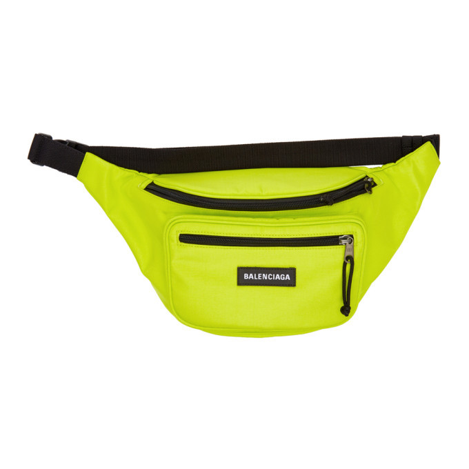 Photo: Balenciaga Green Explorer Belt Pack