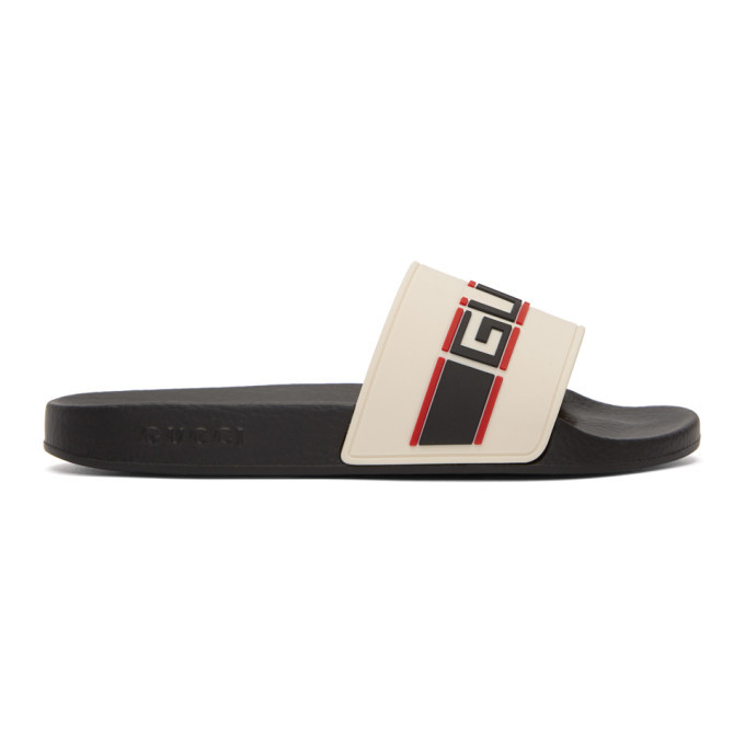 Photo: Gucci Off-White Pursuit Slides