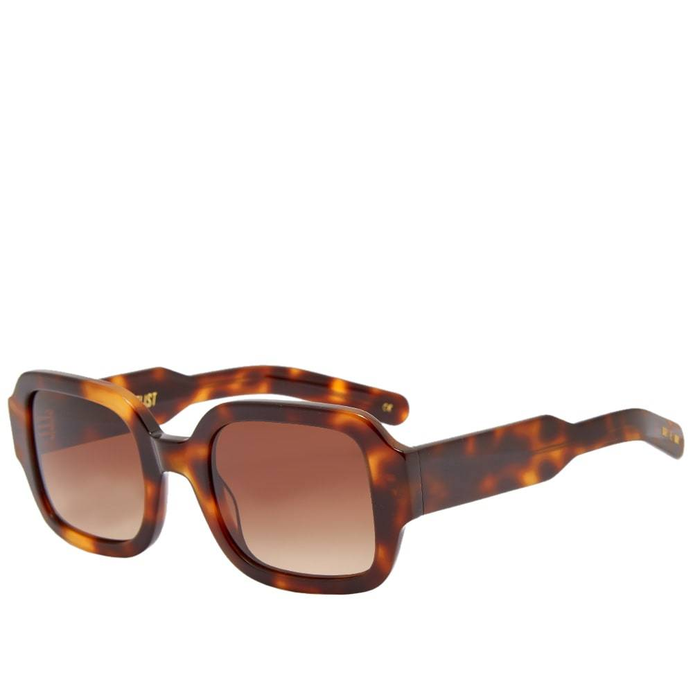 Photo: Flatlist Tishkoff Sunglasses Tortoise & Brown Gradient
