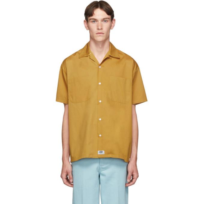 Photo: Dickies Construct Brown Campshirt Short Sleeve Shirt