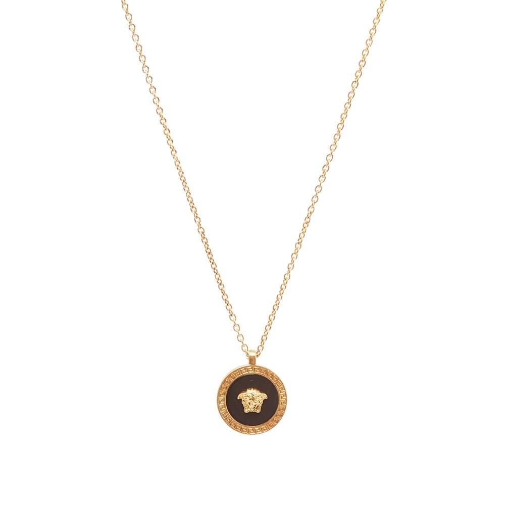 Photo: Versace Small Medusa Medallion Necklace