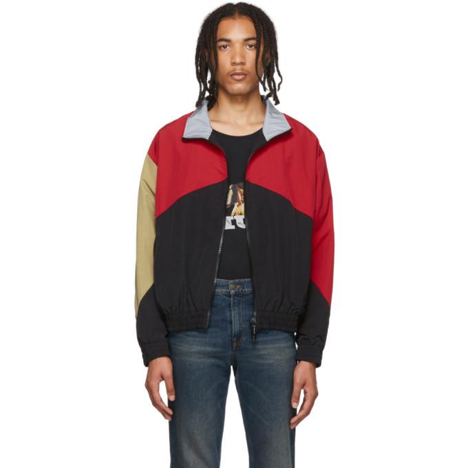 Photo: Rhude Red and Black Flight Jacket