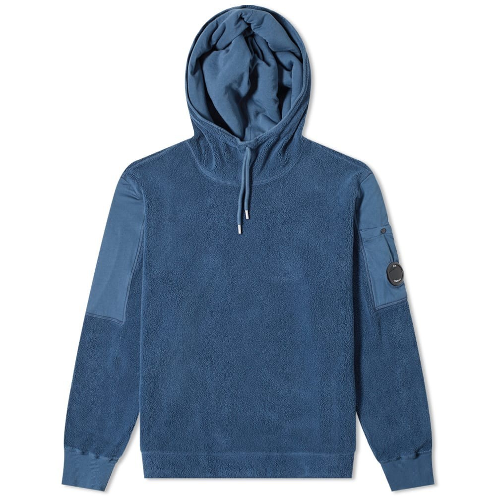 C.P. Company Hooded Arm Lens Sherpa Popover Hoody