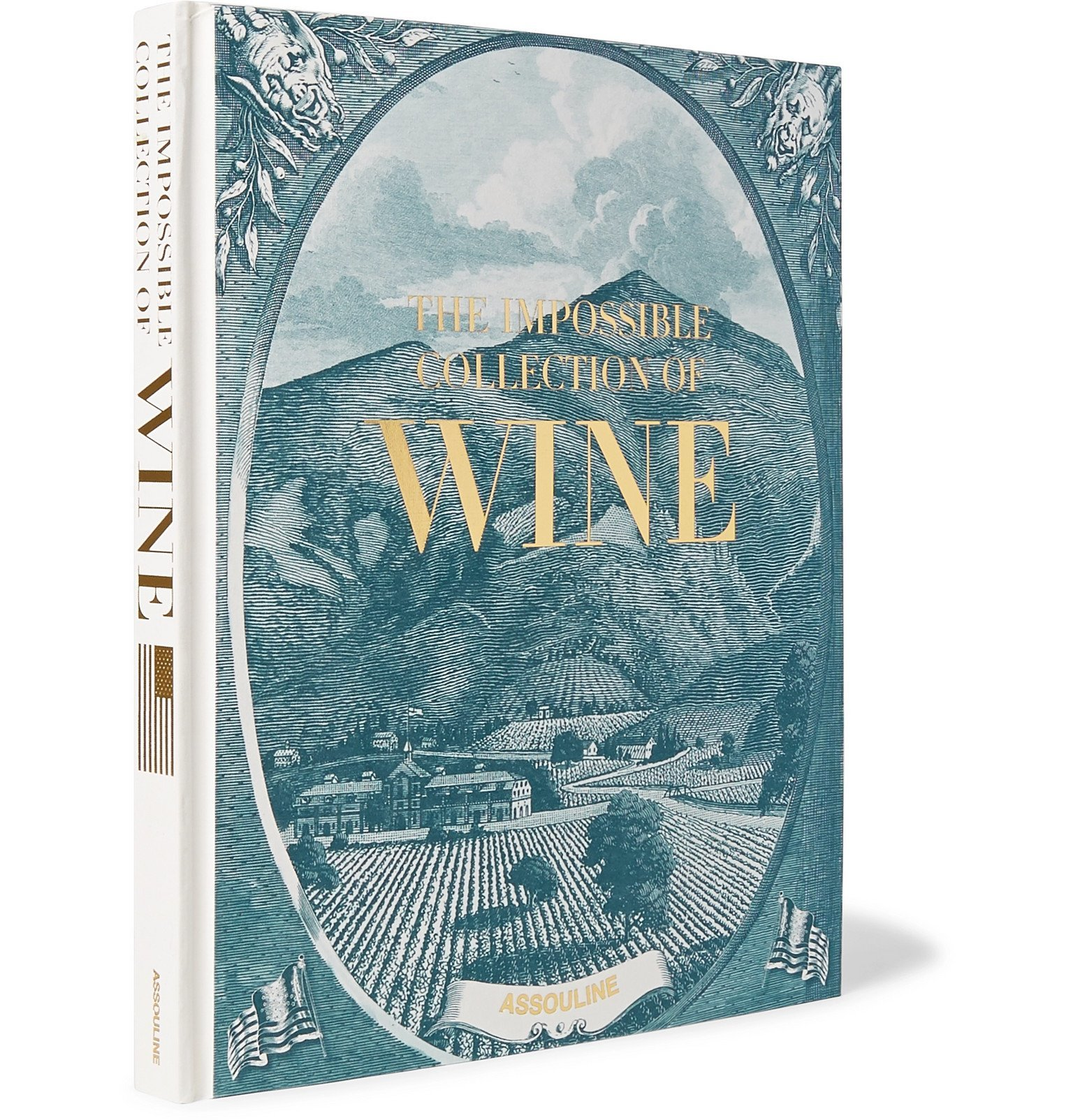 Photo: Assouline - American Wine: The Impossible Collection Hardcover Book - Blue