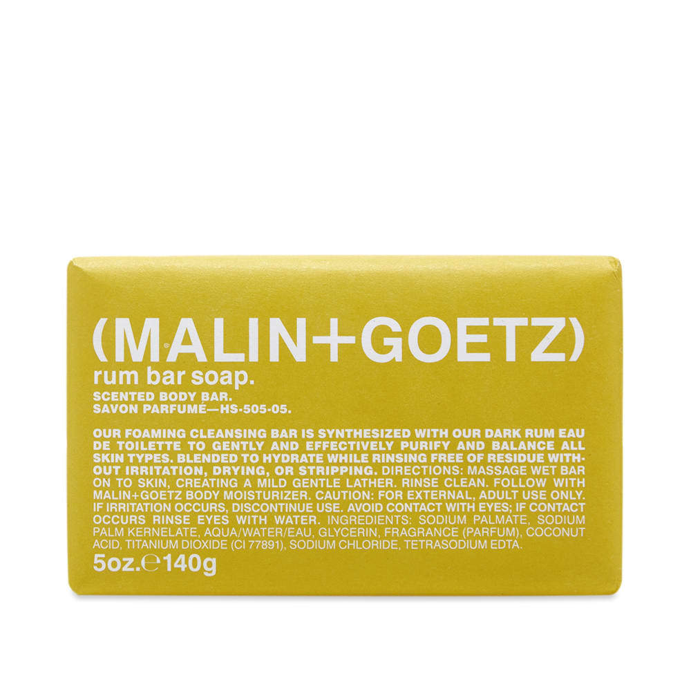 Photo: Malin + Goetz Rum Soap Bar