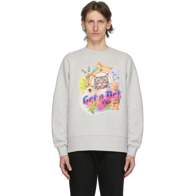 Photo: Han Kjobenhavn Grey Get A Pet Sweatshirt