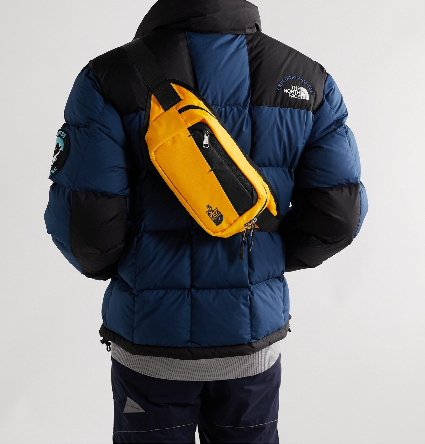 The North Face - Bozer Canvas Belt Bag - Yellow