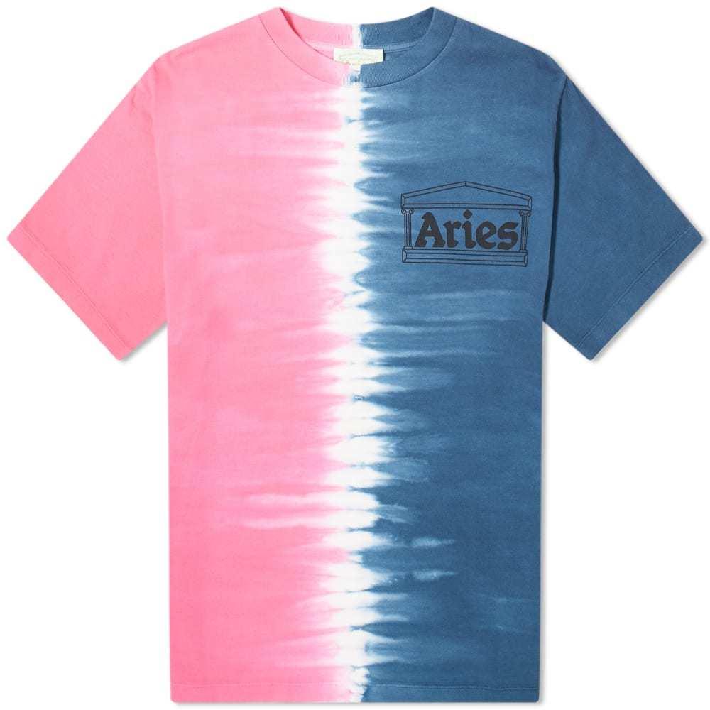 Photo: Aries Tie Dye Half & Half Tee
