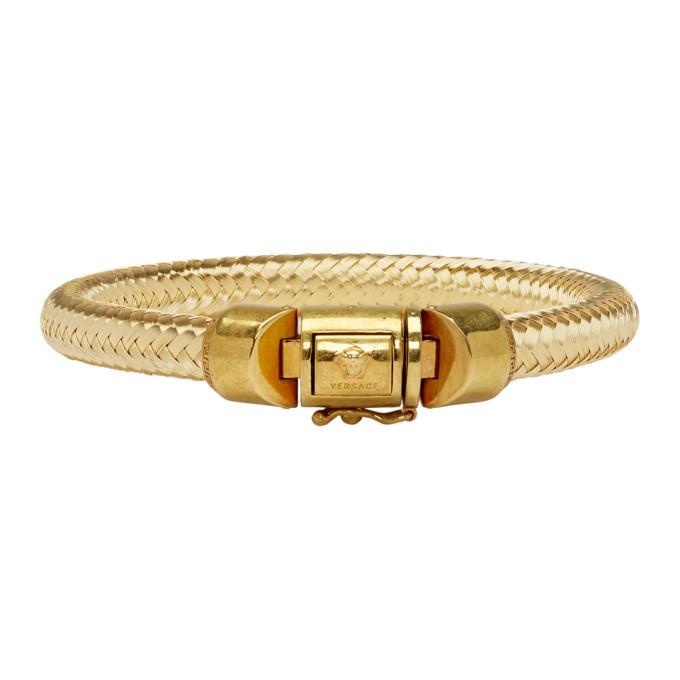 Photo: Versace Gold Rope Bracelet