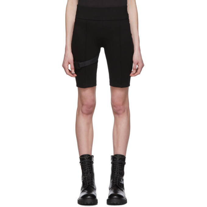 Photo: 1017 ALYX 9SM Black Cycling Shorts