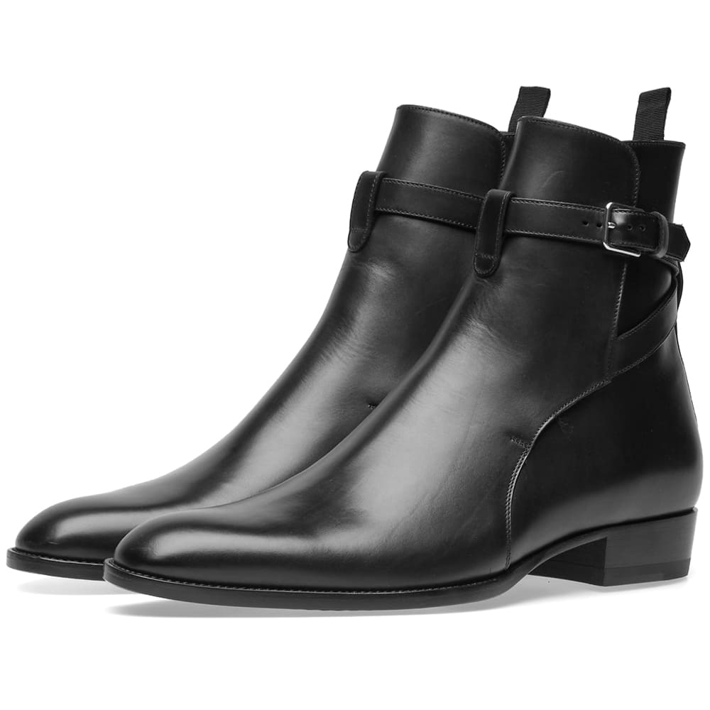 Photo: Saint Laurent Wyatt 30 Jodhpur Boot