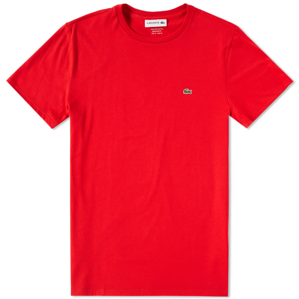 Photo: Lacoste Classic Tee Red