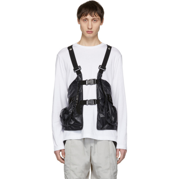 Photo: A-Cold-Wall* Black Reduction Utility Vest