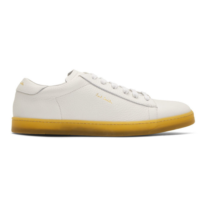 Photo: Paul Smith White Huxley Sneakers