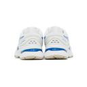 Asics White and Blue Retro Tokyo Edition GEL-Nimbus 22 Sneakers