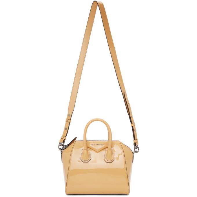 Photo: Givenchy Yellow Mini Patent Antigona Bag