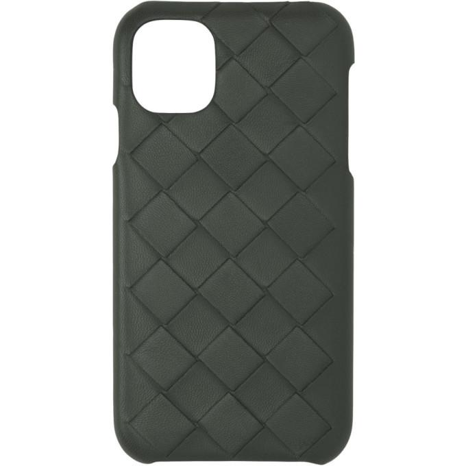 Photo: Bottega Veneta Grey Intrecciato iPhone XR Phone Case
