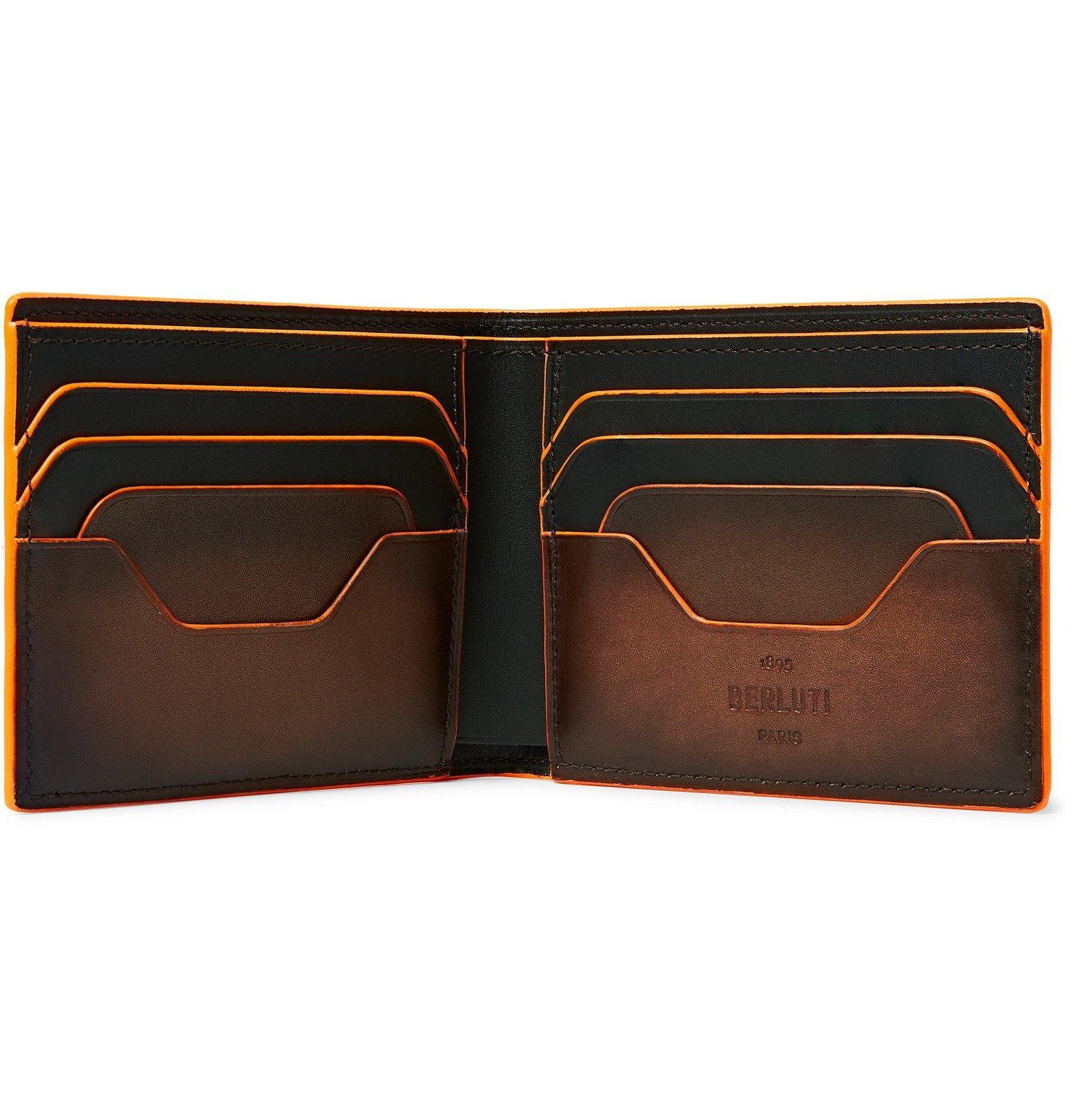 Photo: Berluti - Scritto Venezia Leather Billfold Wallet - Brown