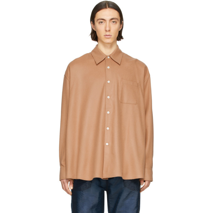Photo: Our Legacy Brown Borrowed Shirt