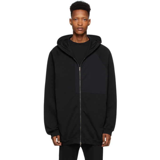 Photo: Haider Ackermann Black Patched Hoodie