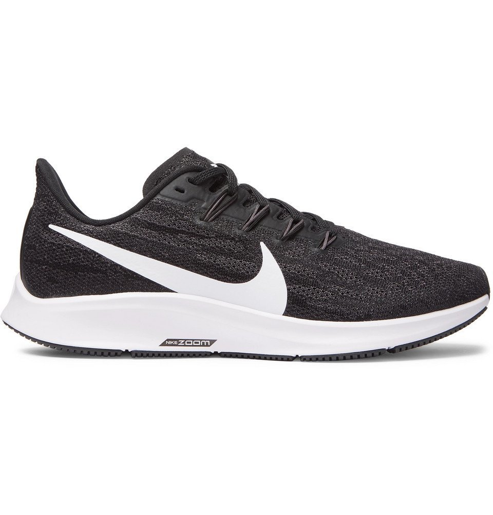 Photo: Nike Running - Air Zoom Pegasus 36 Mesh Running Sneakers - Black