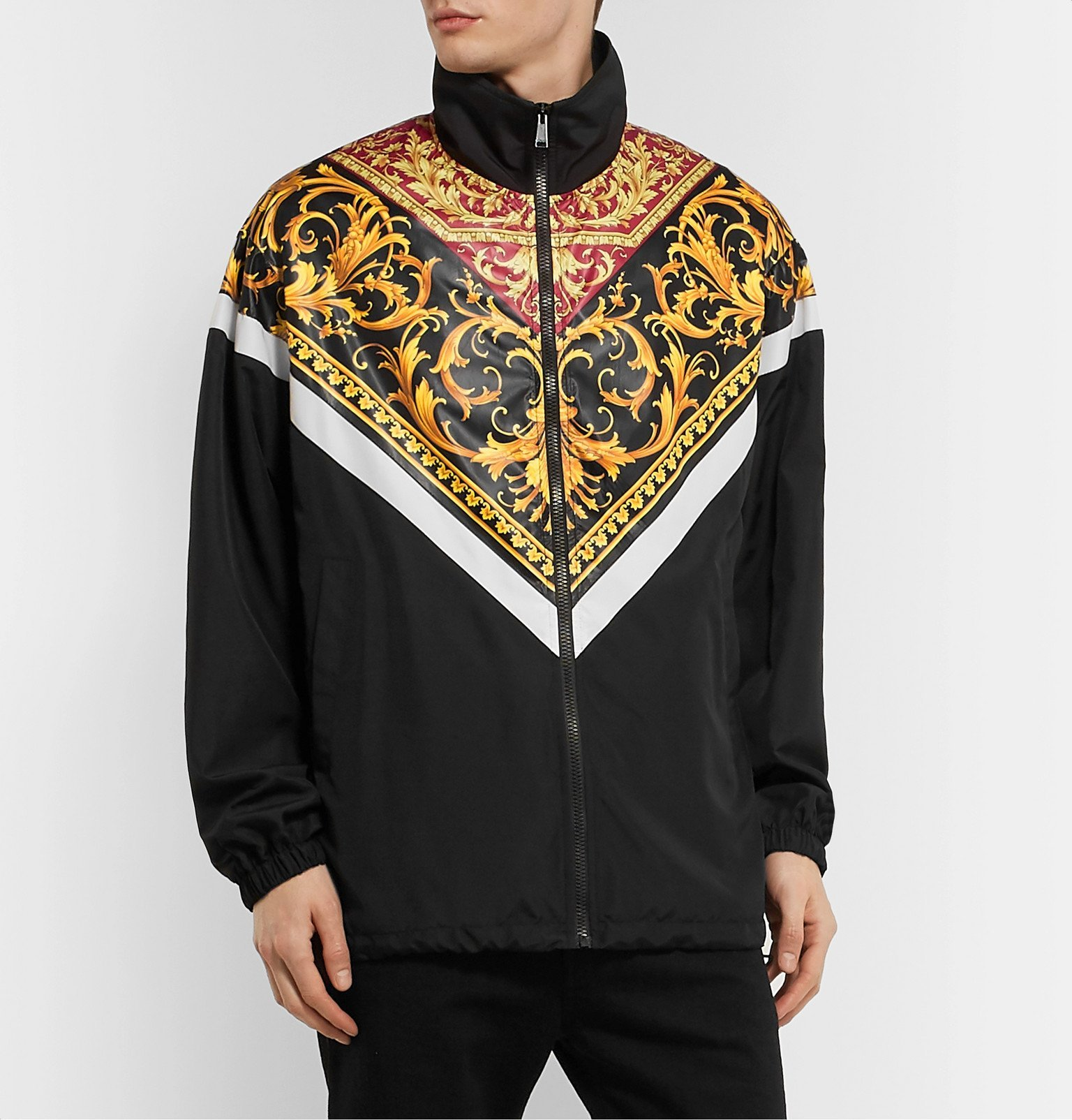 Versace - Printed Shell Jacket - Multi