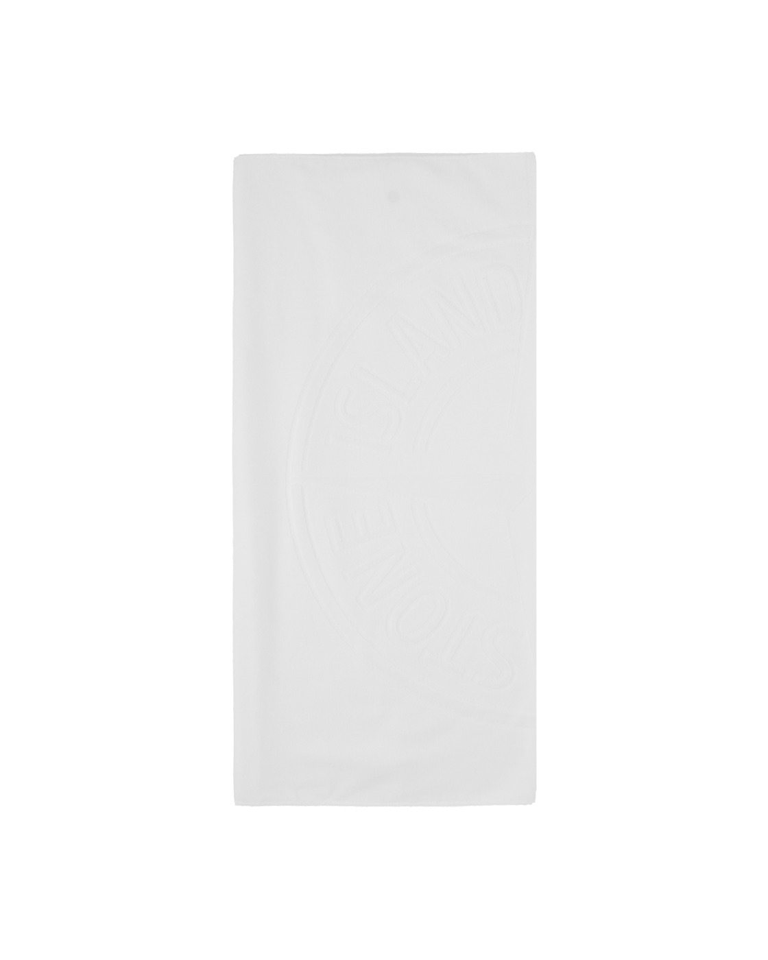 Stone Island Beach Towel White