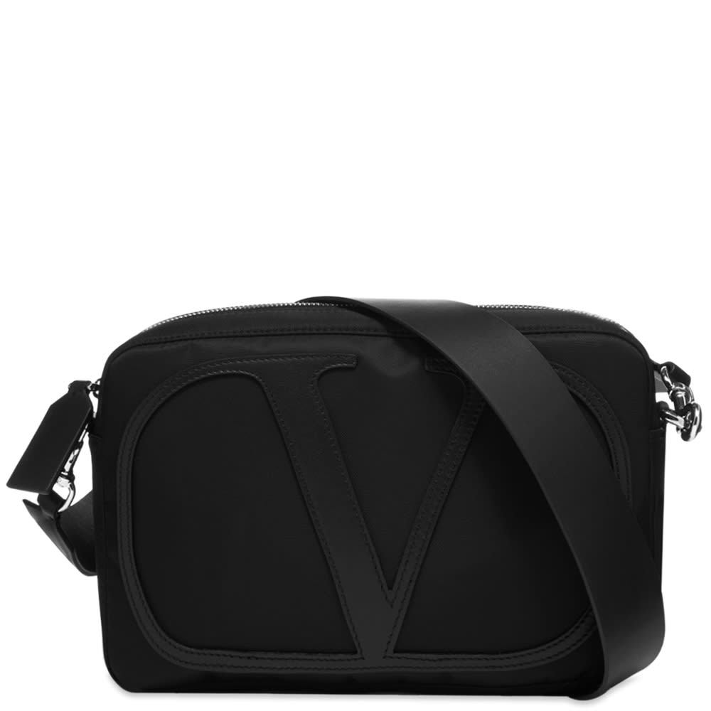 Photo: Valentino Go Logo Cross Body Bag