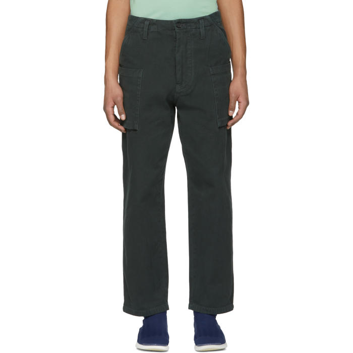 Acne Studios Black Anselm Trousers