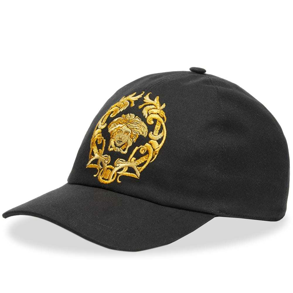 Photo: Versace Embroidered Medusa Cap