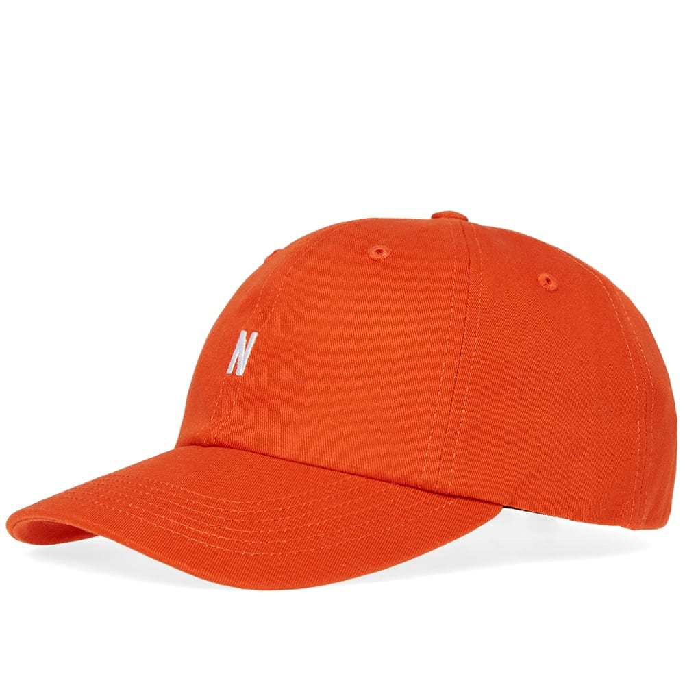 Photo: Norse Projects Twill Sports Cap Orange