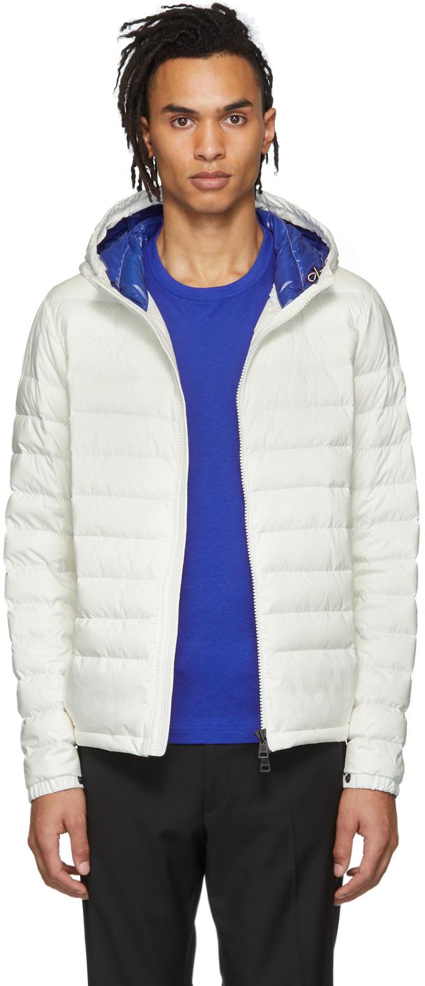 Photo: Moncler SSENSE Exclusive White Down Dreux Jacket