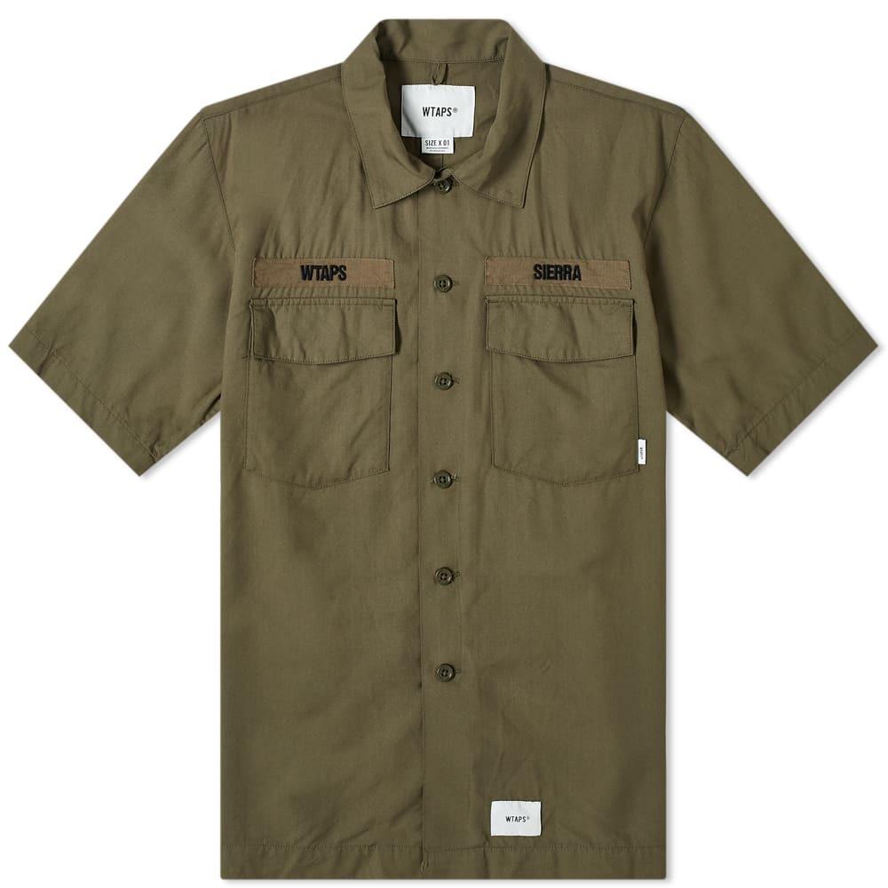 Photo: WTAPS Short Sleeve Cross Shirt