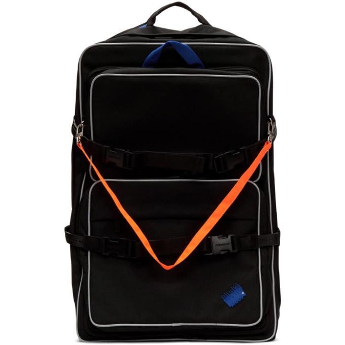 Photo: ADER error Black Multiple Backpack