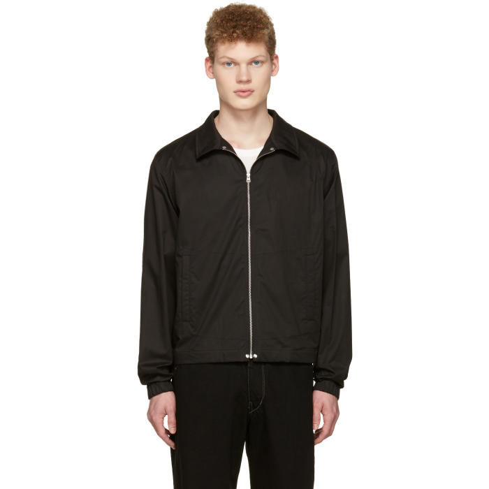 Photo: Lemaire Black Windbreaker Jacket