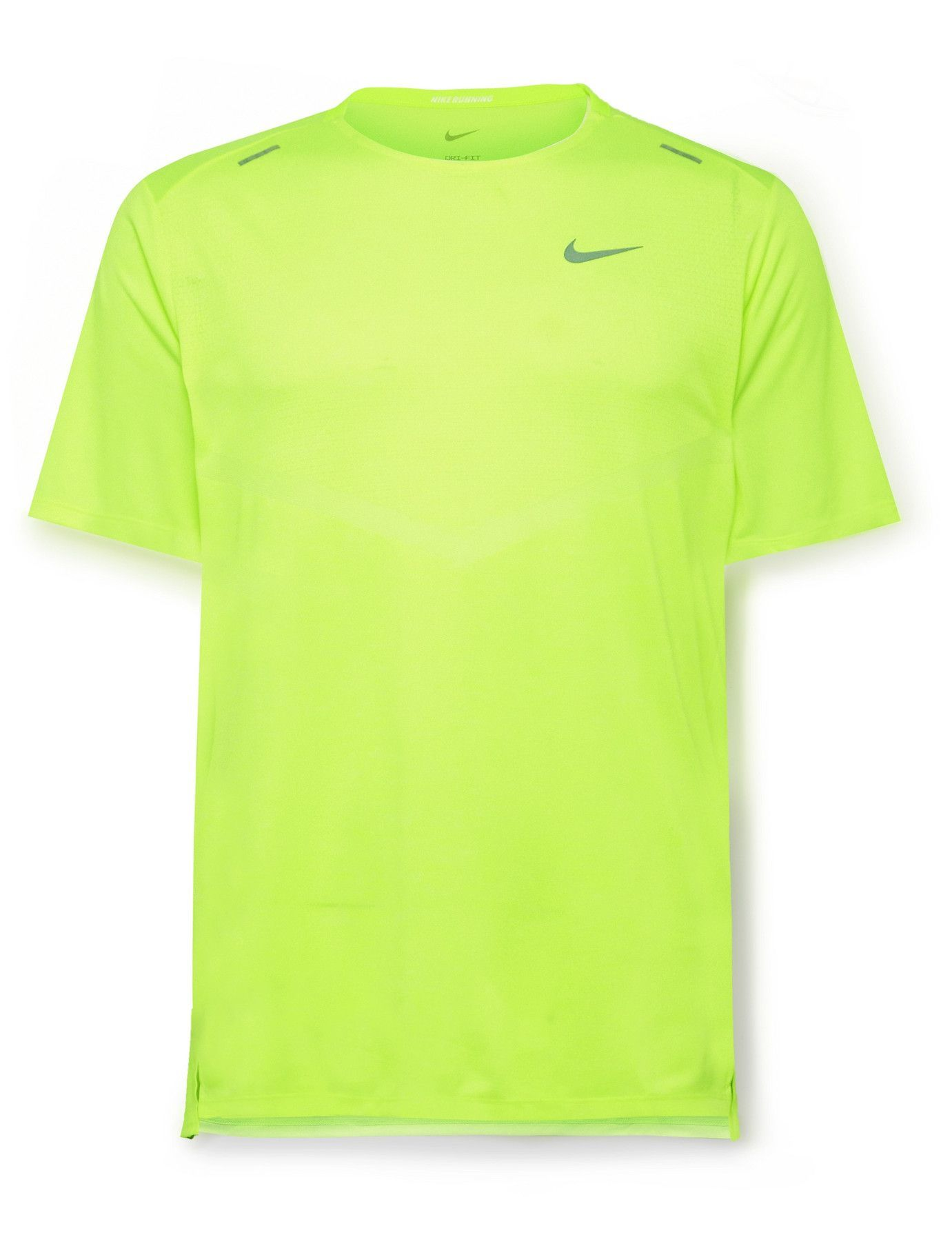 Photo: Nike Running - Rise 365 Dri-FIT T-Shirt - Yellow