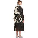 Stella McCartney Off-White Cow Print Leanna Trench Coat