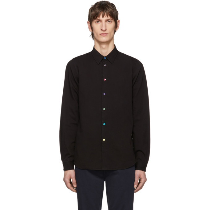 Photo: PS by Paul Smith Black Tailored Fit Shirt