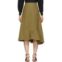 3.1 Phillip Lim Tan Ruffle Hem Skirt