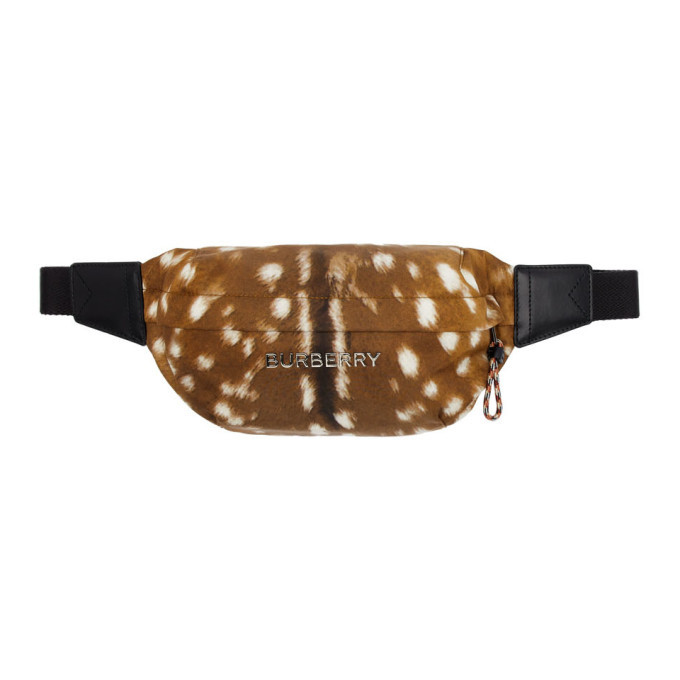 Photo: Burberry Brown Deer Print Sonny Pouch