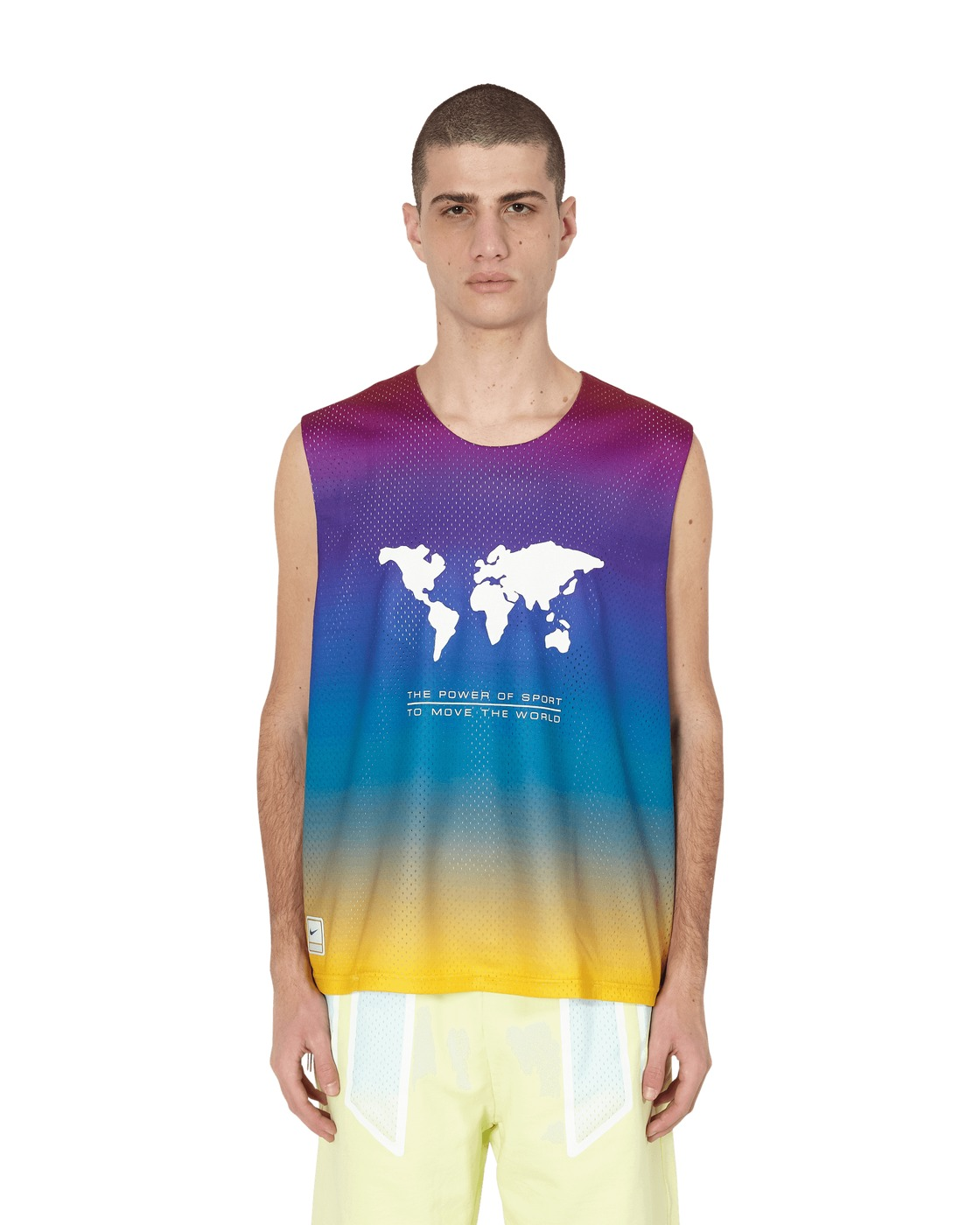 Nike Special Project Pigalle Tank Jersey Court Purple