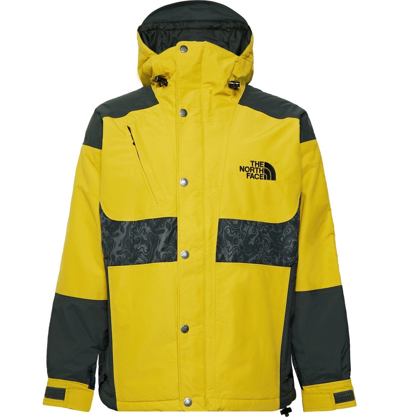 Photo: The North Face - '94 Rage Panelled DryVent 2L Hooded Jacket - Yellow
