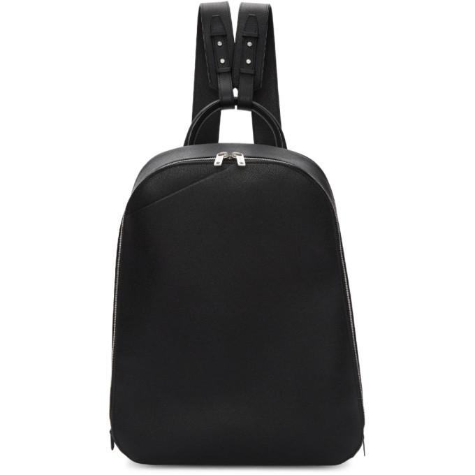 Photo: Valextra Black My Logo Backpack